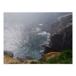Bird's Eye View of Cape St. Mary's print