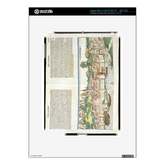 Bird's Eye View of Constance from the Nuremberg Ch iPad 3 Skin