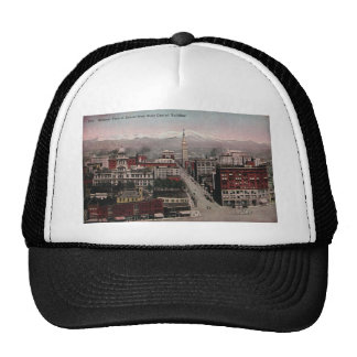 Bird's Eye View of Denver, CO in Early 1900's Mesh Hats