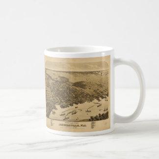 Birds eye view of Jacksonville Florida (1876) Coffee Mug