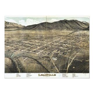 Bird's eye view of Leadville, Colorado (1879) Card