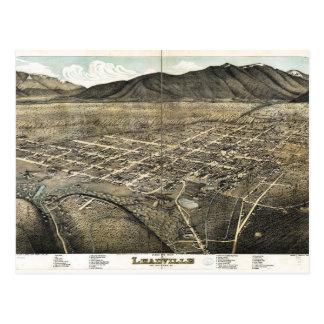 Bird's eye view of Leadville, Colorado (1879) Postcard