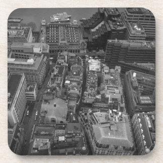 Bird's Eye view of London, UK Coaster