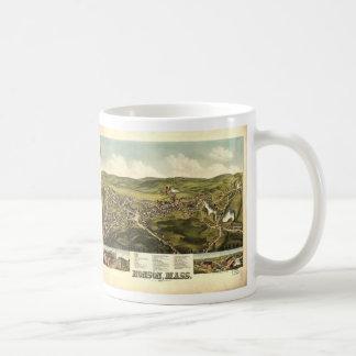 Bird's Eye View of Monson Massachusetts (1879) Coffee Mug