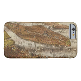 Bird's Eye View of New York and Brooklyn in 1875 Barely There iPhone 6 Case
