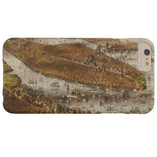 Bird's Eye View of New York and Brooklyn in 1875 Barely There iPhone 6 Plus Case