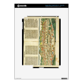 Bird's Eye View of Ratisbon, from the Nuremberg Ch iPad 3 Skins