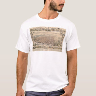 Bird's eye view of Sacramento, Calif. (1293) T-Shirt