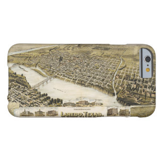 Bird's Eye View of the City of Laredo Texas (1892) Barely There iPhone 6 Case