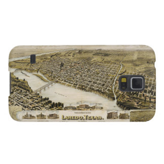 Bird's Eye View of the City of Laredo Texas (1892) Case For Galaxy S5