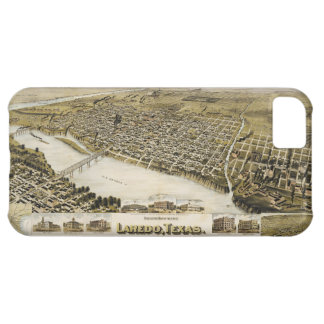 Bird's Eye View of the City of Laredo Texas (1892) iPhone 5C Cover