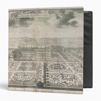 Bird's Eye View of the Gardens Kensington Vinyl Binders