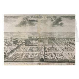 Bird's Eye View of the Gardens Kensington Card