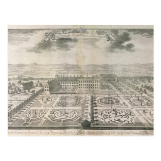 Bird's Eye View of the Gardens Kensington Postcard