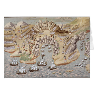 Bird's-Eye View of western Greece centred on Vonit Greeting Card