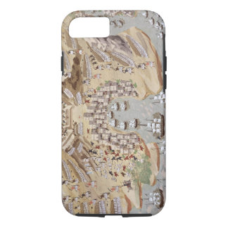 Bird's-Eye View of western Greece centred on Vonit iPhone 7 Case