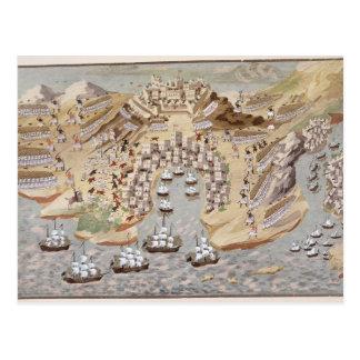 Bird's-Eye View of western Greece centred on Vonit Postcard