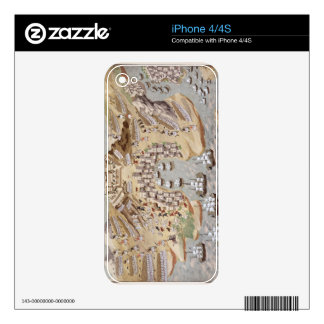 Bird's-Eye View of western Greece centred on Vonit Skin For The iPhone 4