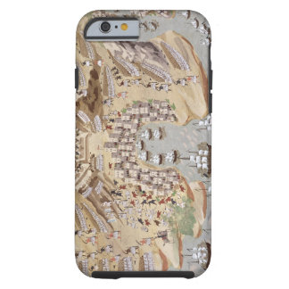 Bird's-Eye View of western Greece centred on Vonit Tough iPhone 6 Case