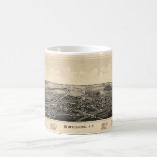 BIrd's Eye View of Whitesboro, New York (1891) Coffee Mug