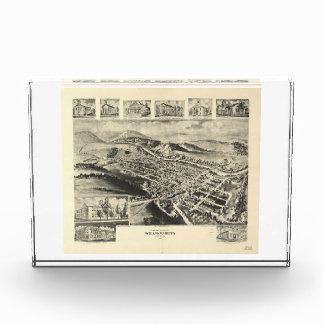 Birds eye view of Williamsburg Pennsylvania (1906) Award