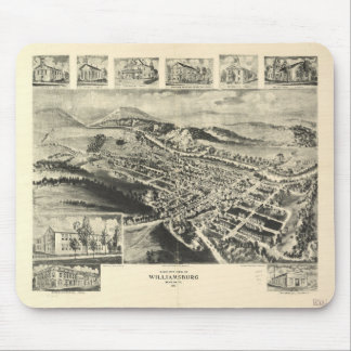 Birds eye view of Williamsburg Pennsylvania (1906) Mouse Pad