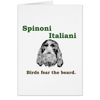 Birds Fear The  Beard Card