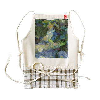 Birds feeding themselves zazzle HEART apron