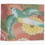 Birds & Flowers 3 Ring Binders