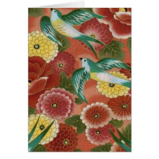 Birds & Flowers Cards