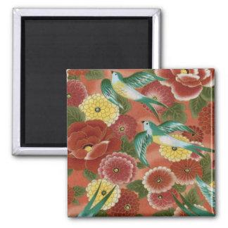 Birds & Flowers Fridge Magnets