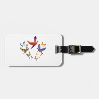 Birds Fly :  Soaring High is my nature Bag Tag