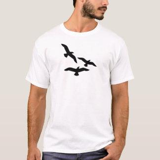 birds-flying-silhouette T-Shirt
