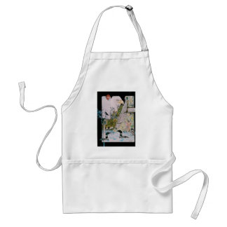 Birds from A to L Adult Apron