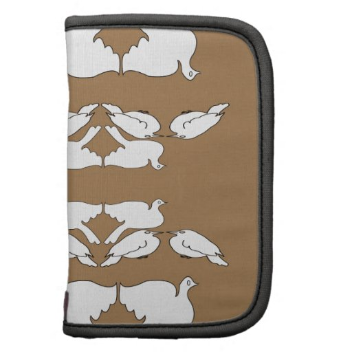 Birds_gold_cute_design blanco de Birds_Funny_love Planificadores