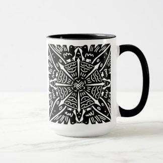 Birds Hearts Flower Mug