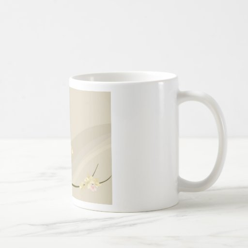birds in a blossoming tree classic white coffee mug