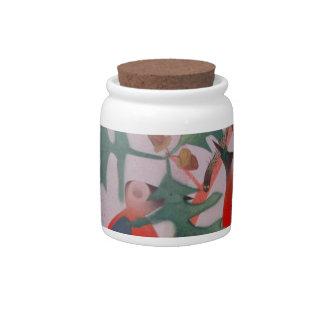 Birds In A Tree Candy Jar