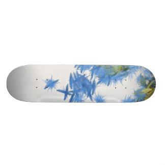 Birds in abundance skateboard deck