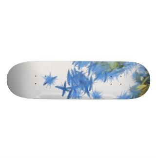 Birds in abundance skateboards