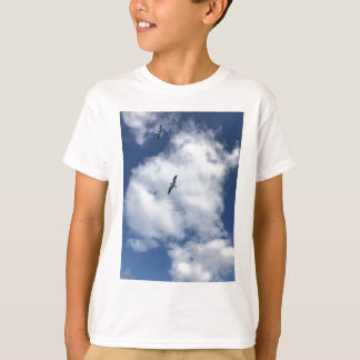 Birds in Clouds T-Shirt
