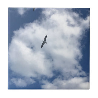 Birds in Clouds Tile