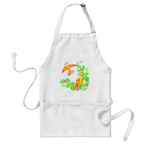 Birds In Color Adult Apron