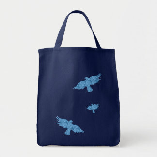 birds in flight canvas bags
