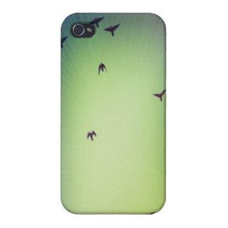 Birds in Flight iPhone 4 Covers