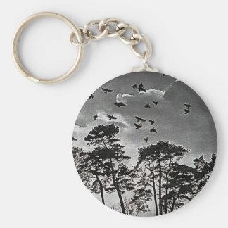 Birds In Flight. Keychain