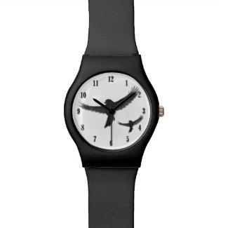 Birds in Flight Wrist Watch