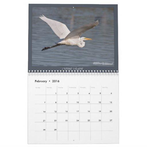 Birds in Flight Yearly Calendar