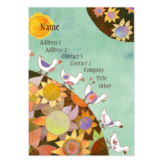 Birds in Flower Land Business Cards