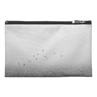 Birds in fog travel accessories bag